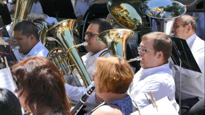 Band of the Hills performs a concert this weekend.