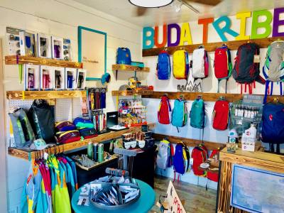The first Budaful Hiker opened on Main Street in 2018.