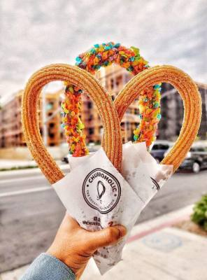 Churroholic & Hiccups is now open in the Willowbrook area.