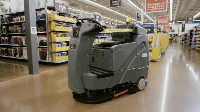 Two Northwest Austin Walmart Supercenters are set to receive automated floor scrubbers by this fall.