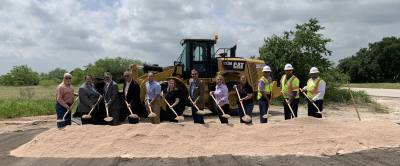A groundbreaking was held for Seward Junction improvements April 29.