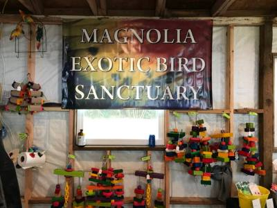 Magnolia Exotic Bird Sanctuary is expanding its property to include an adoption center.