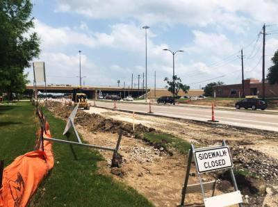 The completion date for construction on Virginia Parkway has been delayed from June to August.