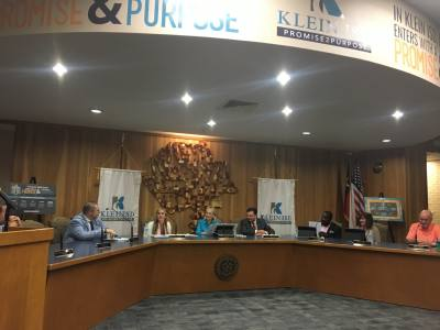 The Klein ISD board of trustees unanimously approved its 2019-20 budget, which includes historic teacher raises, partly as a result of House Bill 3.