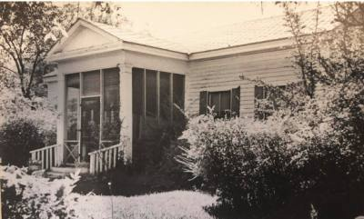 The Faires House was built in 1854 by John Faires and stayed in the Faires family until 1975.