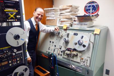 John Hansen had to rewire NASAu2019s Soundscriber to digitize the lunar mission tapes.