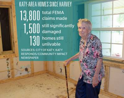 Ann Zanfardino, 92, stands in what was once her bedroom.