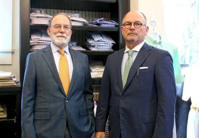 Co-owners Mike Mahaffey and Jim Brandon have been business partners since the early u201890s.