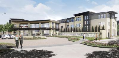 Fountainwood at Lake Houston will open in 2020 in Atascocita.