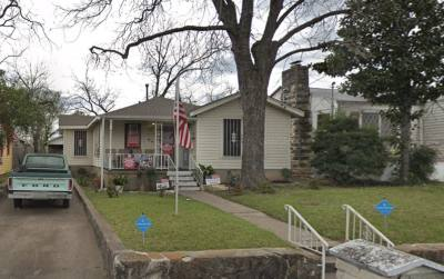Richard Overton's home at 2011 Hamilton Ave. in East Austin was built in 1948.