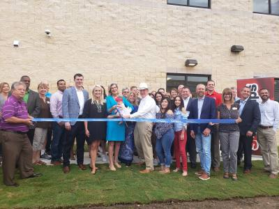Georgetown ISD celebrated the ribbon-cutting Sept. 19 of the new cosmetology lab at East View High School.