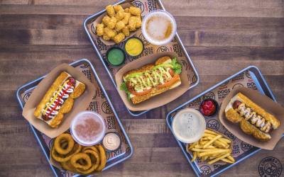 A Gilbert franchise of DogHaus will open Nov. 16 at SanTan Village.