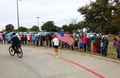 The sixth annual Veterans Day Relay Run will be hosted by Flower Mound Nov. 8.